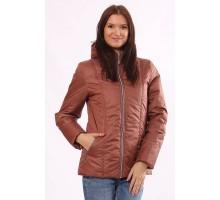 Женская куртка матовая коричневая ОСН4012