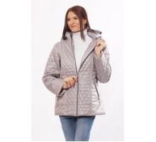 Стильная куртка комбинированная стальная ОСН4025