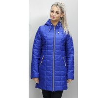Куртка весенняя цвета электрик матовая ОСН6009-3