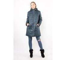 Бирюзовая куртка с карманами ОСН6005-9