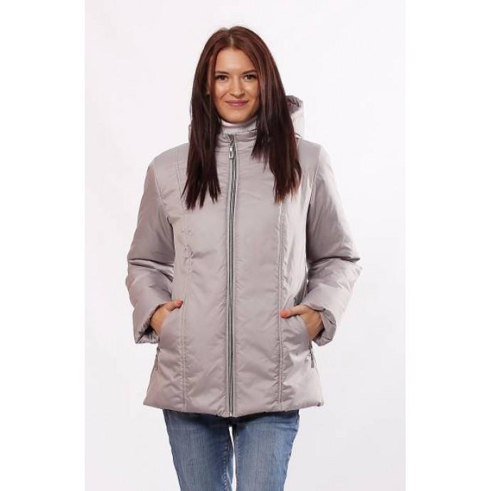 Молодежная куртка матовая стальная ОСН4018