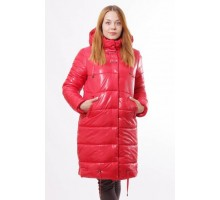 Куртка молодежная красная зимняя ОСН00016