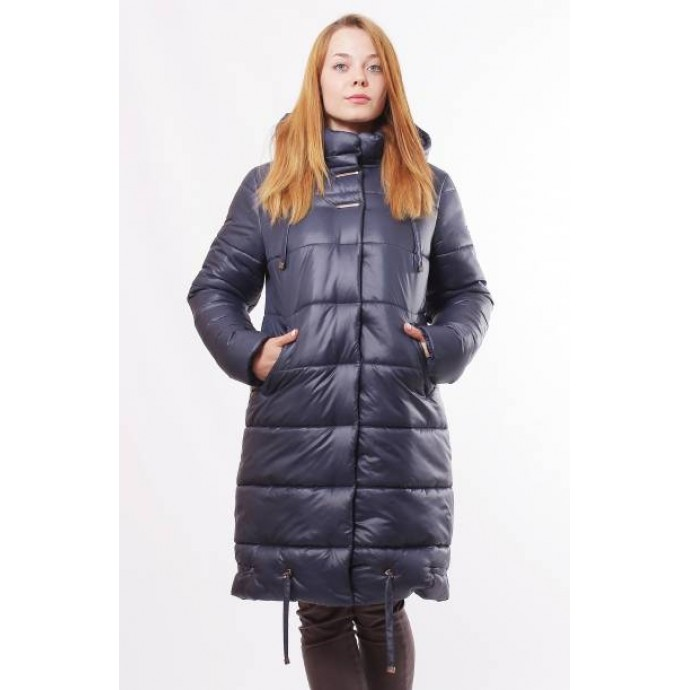 Темно-синяя зимняя куртка ОСН0008