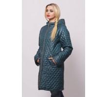 Бирюзовая весенняя куртка ОСН902235