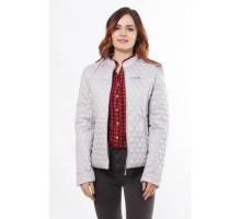 Стильная куртка женская стальная ОСН902267