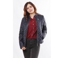 Женская куртка легкая темно синяя ОСН902261
