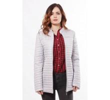 Стальная модная женская куртка с воротником стойка ОСН902256
