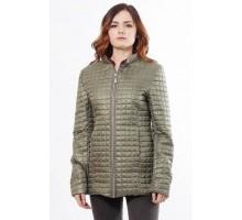 Легкая весенняя куртка цвета хаки ОСН902254