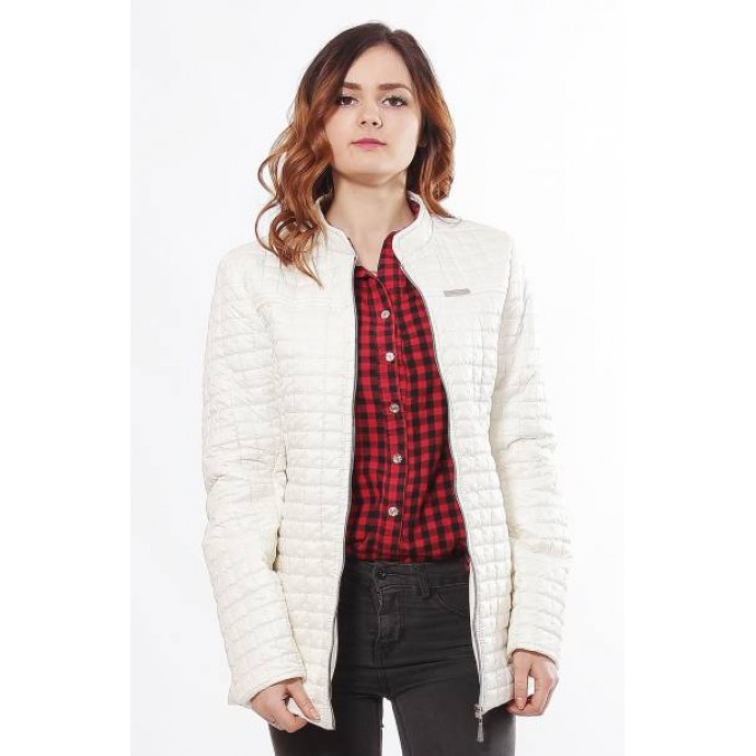 Женская модная куртка цвета ваниль ОСН902251