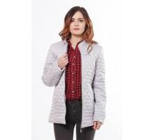 Легкая весенняя куртка женская стальная ОСН902276