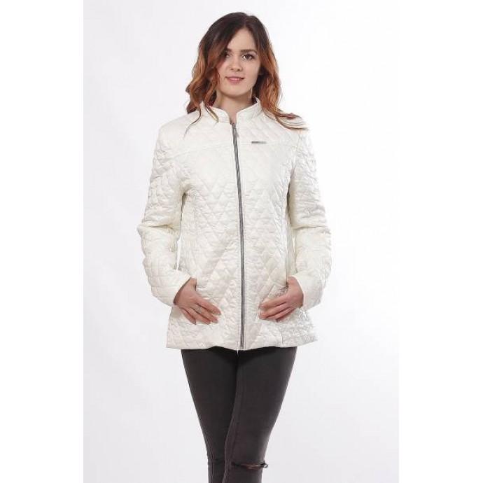 Женская куртка без капюшона ванильная ОСН902275