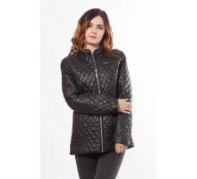 Удобная женская куртка черная ОСН902273