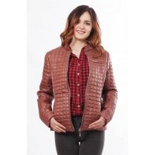 Женская куртка коричневая молодежная ОСН902245