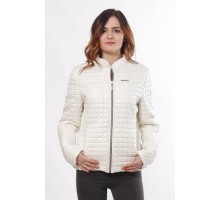Ванильная стильная женская куртка ОСН902241