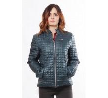 Куртка модная женская бирюзовая ОСН902240