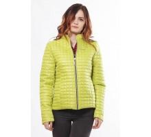 Легкая женская куртка цвета лайм ОСН902238