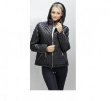 Куртка черная демисезонная короткая ОСН60011
