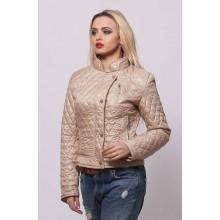 Женская весенняя куртка СК-1 Бежевый 42-50 размеры  ОСН4039