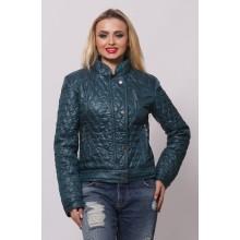 Женская весенняя куртка СК-1 Бирюза 42-50 размеры  ОСН4044
