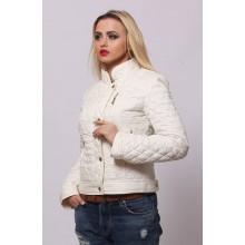 Женская весенняя куртка СК-1 Ваниль 42-50 размеры  ОСН4041