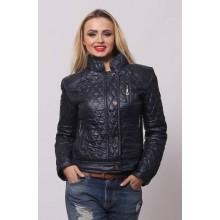 Женская весенняя куртка СК-1 Темно-синий 42-50 размеры  ОСН4042