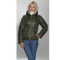 Куртка цвета хаки весенняя ОСН6001-4