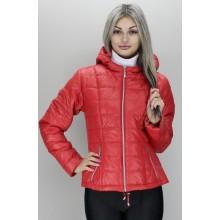 Женская куртка 40-74 размеры КР-3 Красная ОСН60012