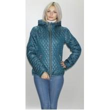 Куртка осенняя бирюзовая ультратонкая ОСН6003-1