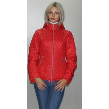 Куртка осенняя красная легкая ОСН6003-5