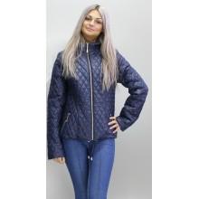 Куртка весна-осень темно-синяя ОСН6003-6