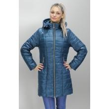 Куртка весна бирюзовая с карманами ОСН6004