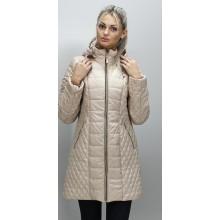 Демисезонная куртка 40-74 размеры КМ-11 Бежевая ОСН6005-1