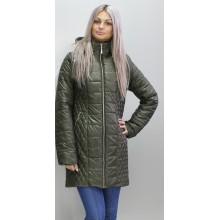 Демисезонная куртка 40-74 размеры КМ-11 Хаки ОСН6005-3