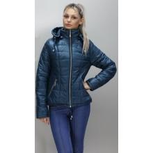 Женская куртка 40-74 размеры КР-1 Бирюза ОСН6006