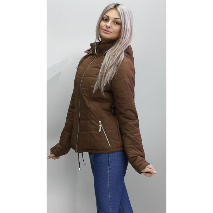 Куртка женская коричневая матовая ОСН6006-6
