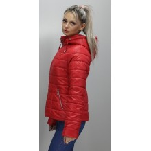 Женская куртка 40-74 размеры КР-1 Красная ОСН6006-2