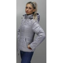 Женская куртка 40-74 размеры КР-1 Стальная ОСН6006-1