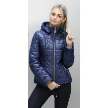 Женская куртка 40-74 размеры КР-1 Темно - синяя ОСН6006-3