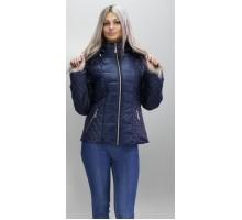Куртка весенняя 40-74 размеры КМ -1 Темно - синяя ОСН6007-2