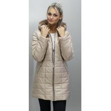 Куртка приталенная весенняя бежевая ОСН6009