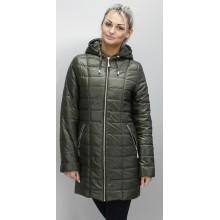 Куртка весенняя цвета хаки ОСН6009-2