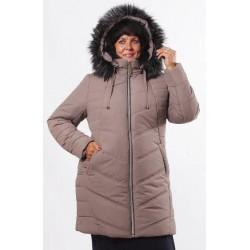Зимняя куртка 52-62 размеры К-34 Кофе ОСН77704
