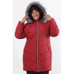 Зимняя куртка 52-62 размеры К-34 Вишня ОСН77703