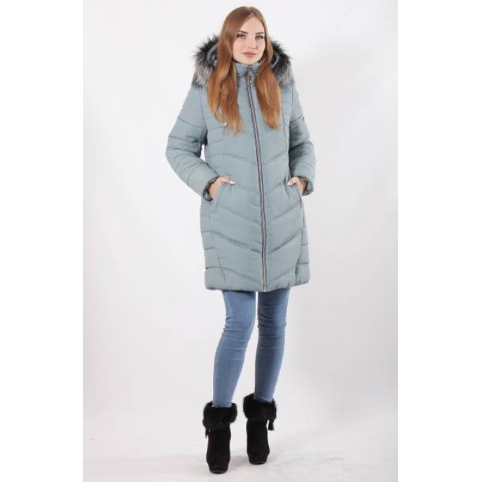 Зимняя куртка 52-62 размеры К-34 Аквамарин ОСН77702