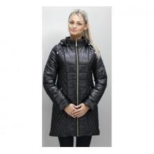 Демисезонная куртка 40-74 размеры КМ-11 Черный ОСН6005