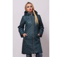 Куртка женская модная бирюзовая ОСН902229