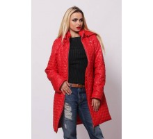 Женская куртка весенняя красная ОСН902227