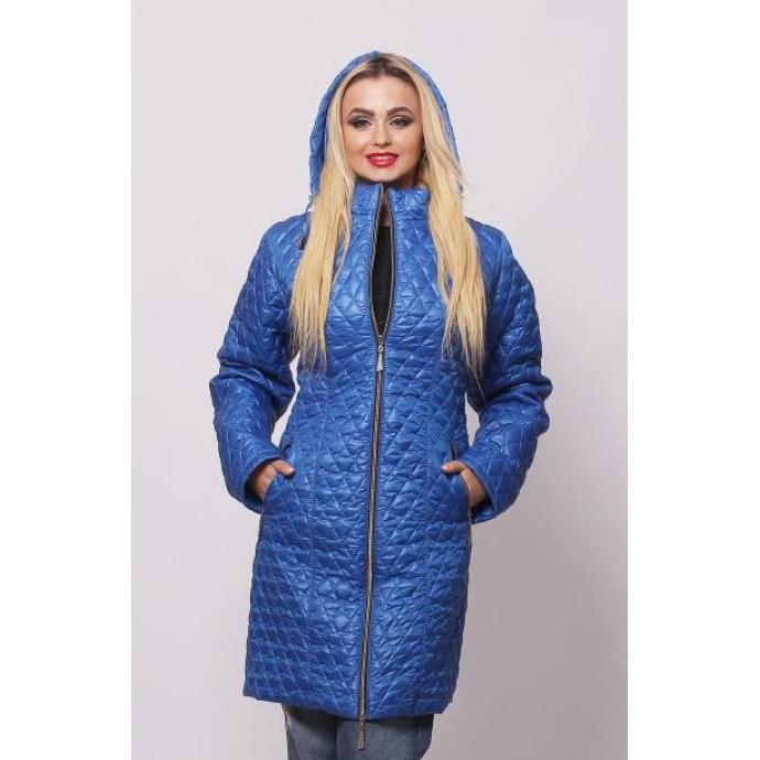 Женская весенняя куртка цвета электрик ОСН902226