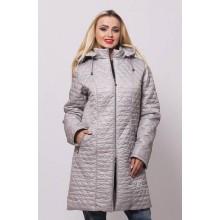 Куртка женская весенняя стальная ОСН902225