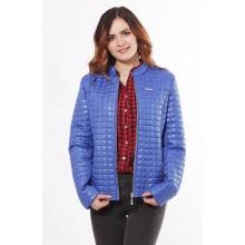 Комфортная куртка женская из плащовки цвета электрик ОСН902244